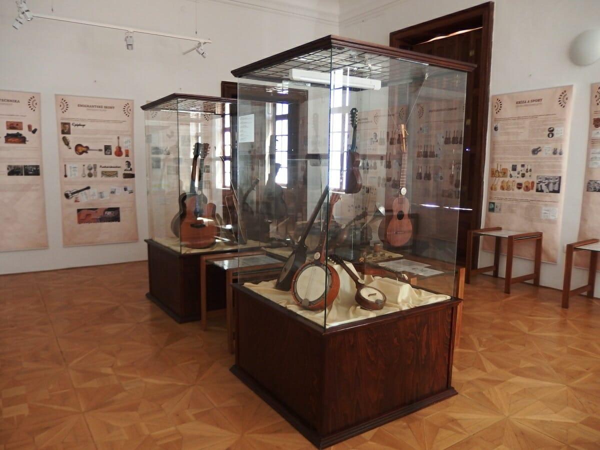 Expozícia Hudobného múzea