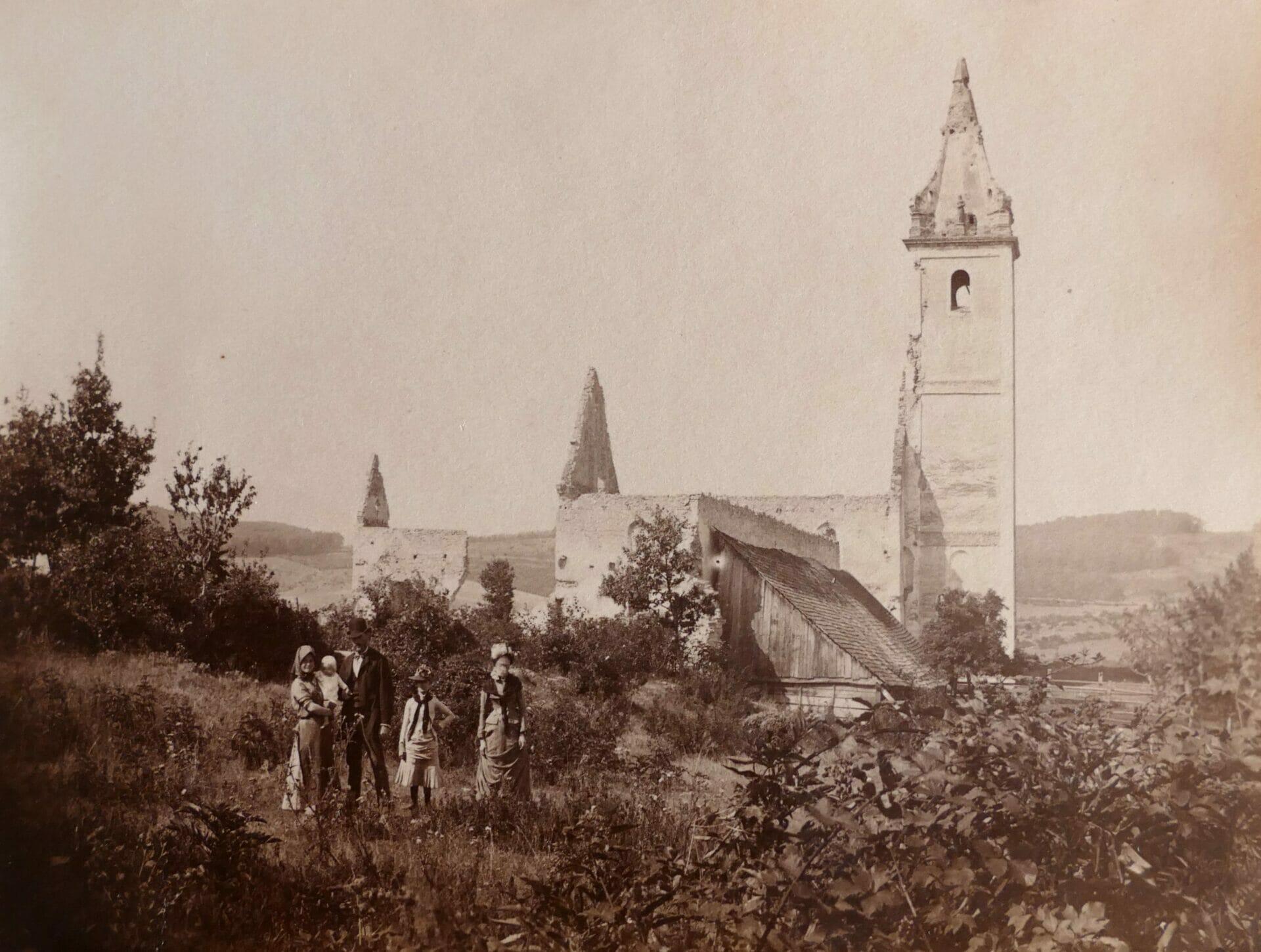 Najstaršia fotografia Katarínky, 1904