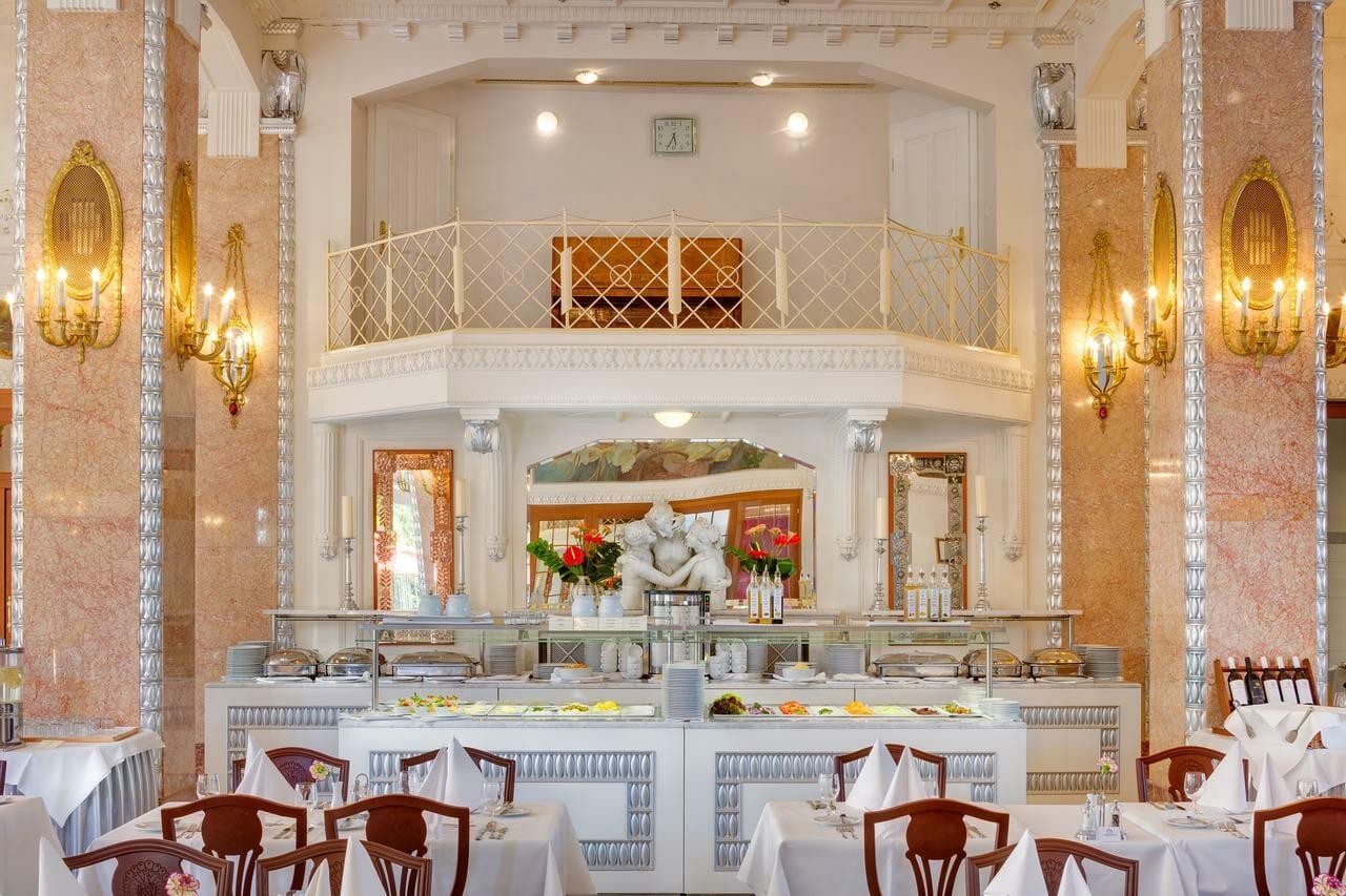 Hotel Thermia Palace, kaviareň