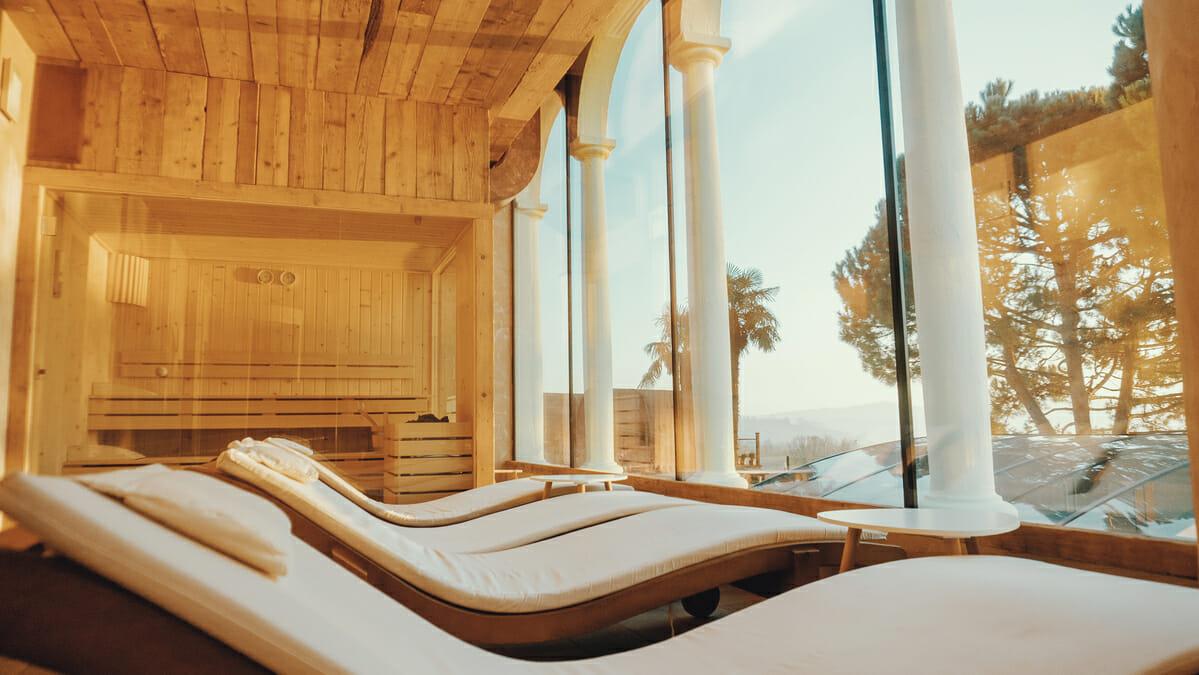 Po každom saunovaní si doprajte polhodinovú oddychovú prestávku.