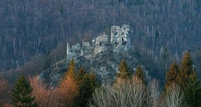 Pohľad na Starý hrad