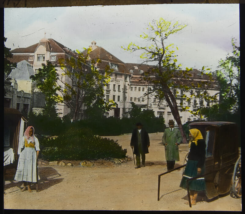 Neznámy autor - Piešťany. Kúpele Thermia Palace, SNG, 1912-1920