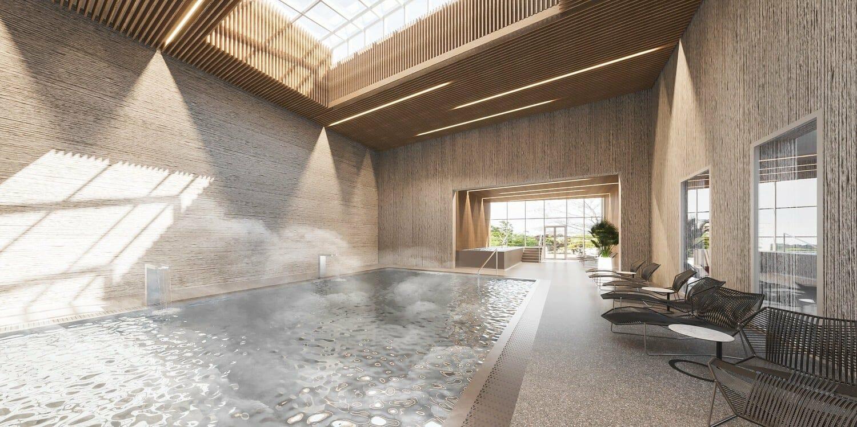 Vnútorný bazén, Royal Palace, T. Teplice