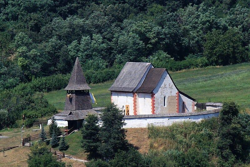 Gotický kostol sv. Martina Čerín