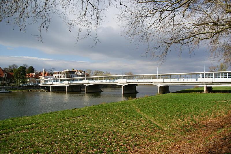 Sklený, tzv. Krytý most