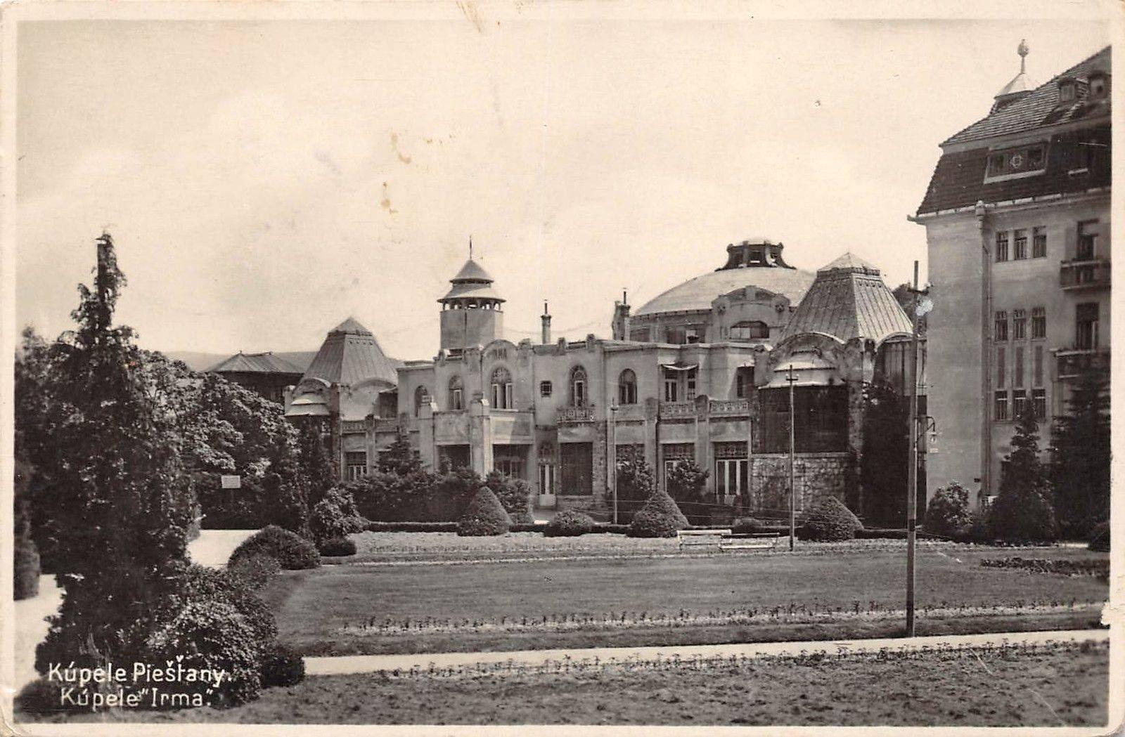 Kúpele Irma v roku 1931