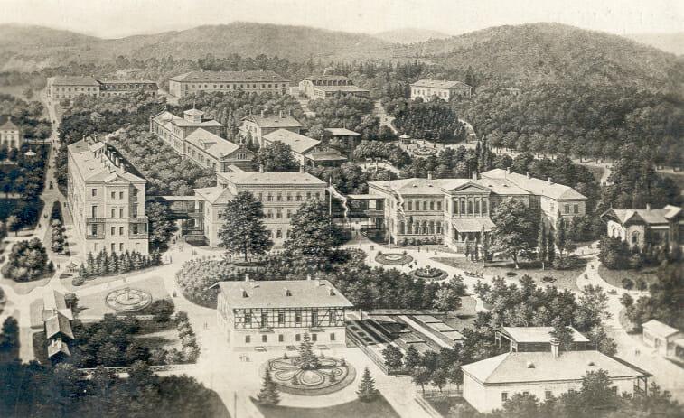 Kúpele Sliač história 19. storočie