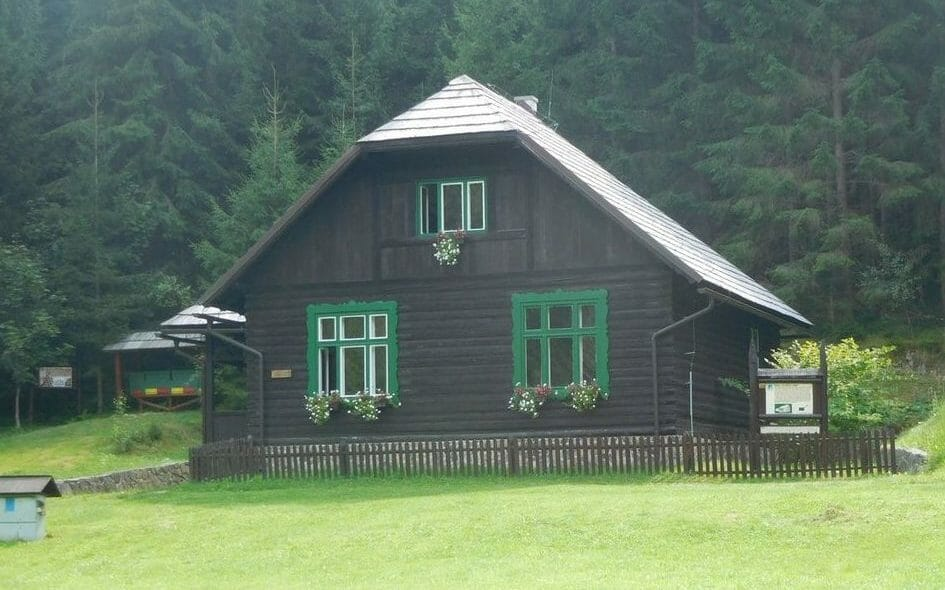 Skanzen Vydrovo – dom horára