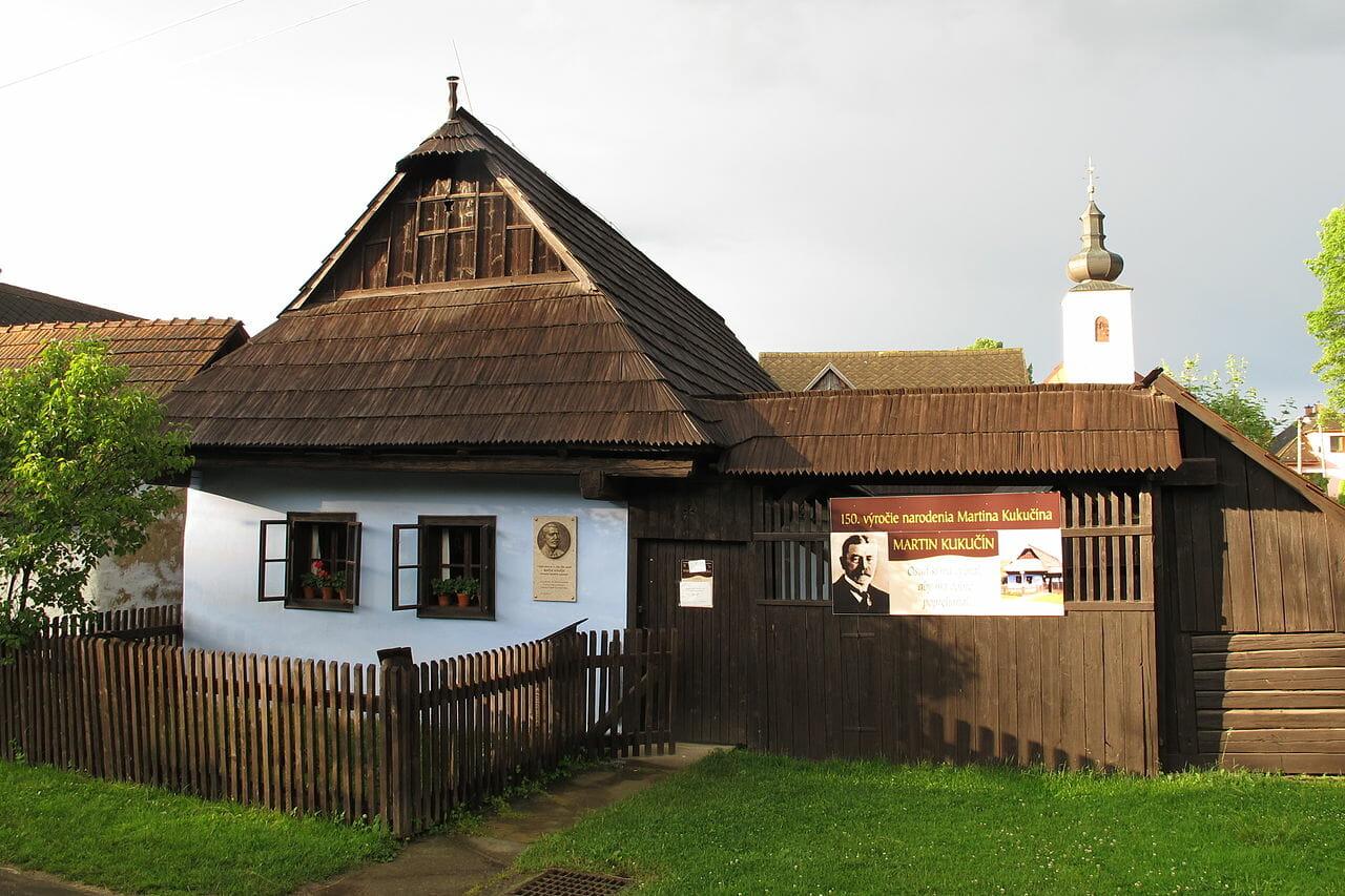 Pamätný dom Martina Kukučína v Jasenovej