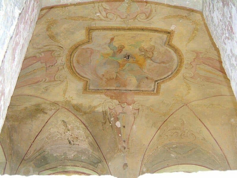 Fresková maľba v kaštieli