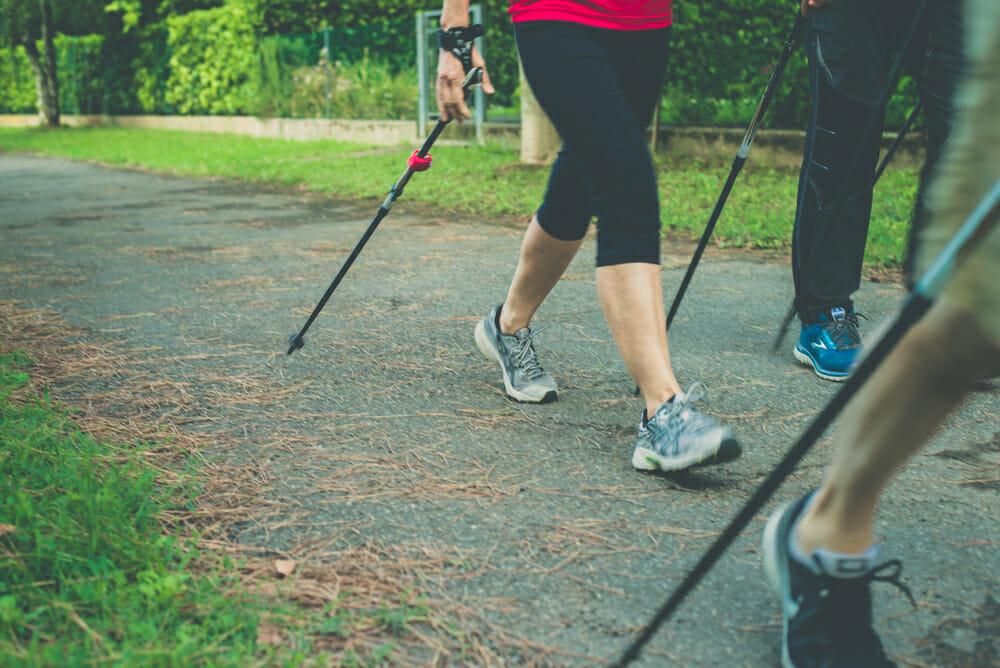 Základom nordic walkingu je správna technika