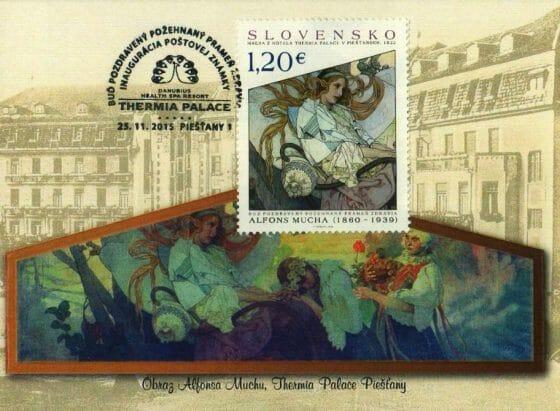 Pohľadnica - Alfons Mucha