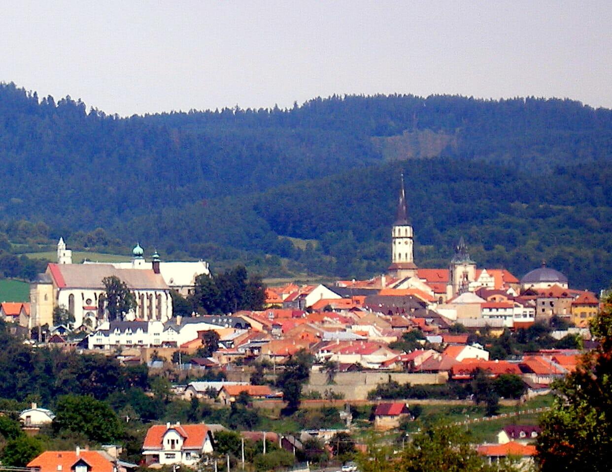 Pohľad na mesto Levoča