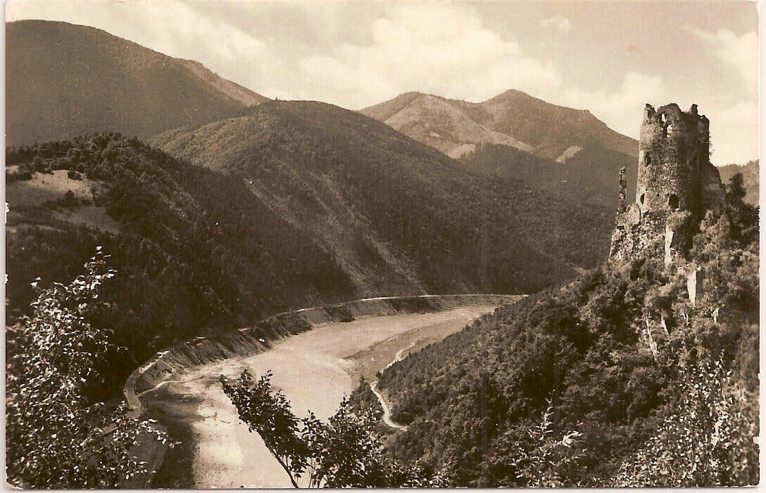 Historická fotografia Starhradu