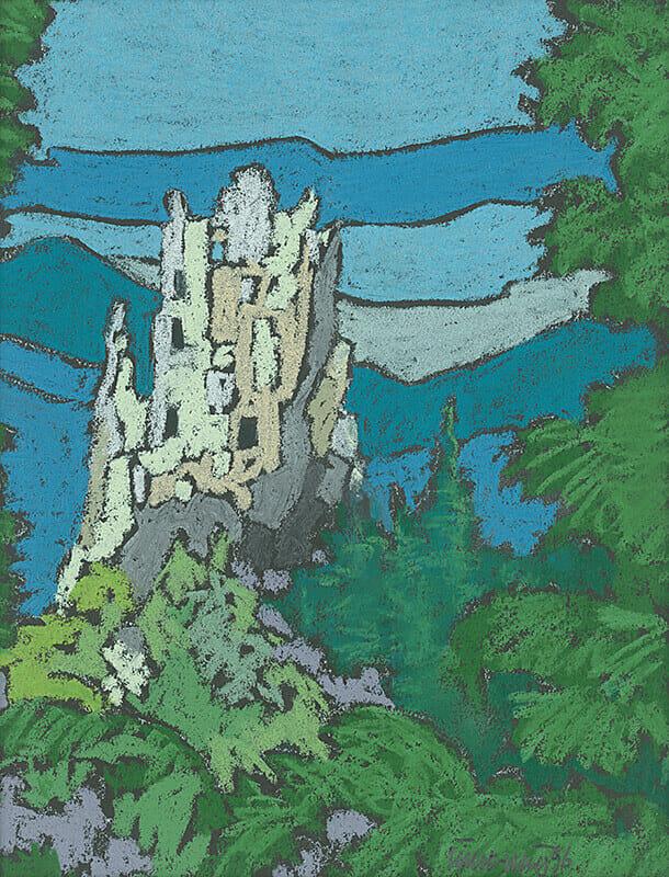 Starý hrad pri Varíne - zrúcaniny