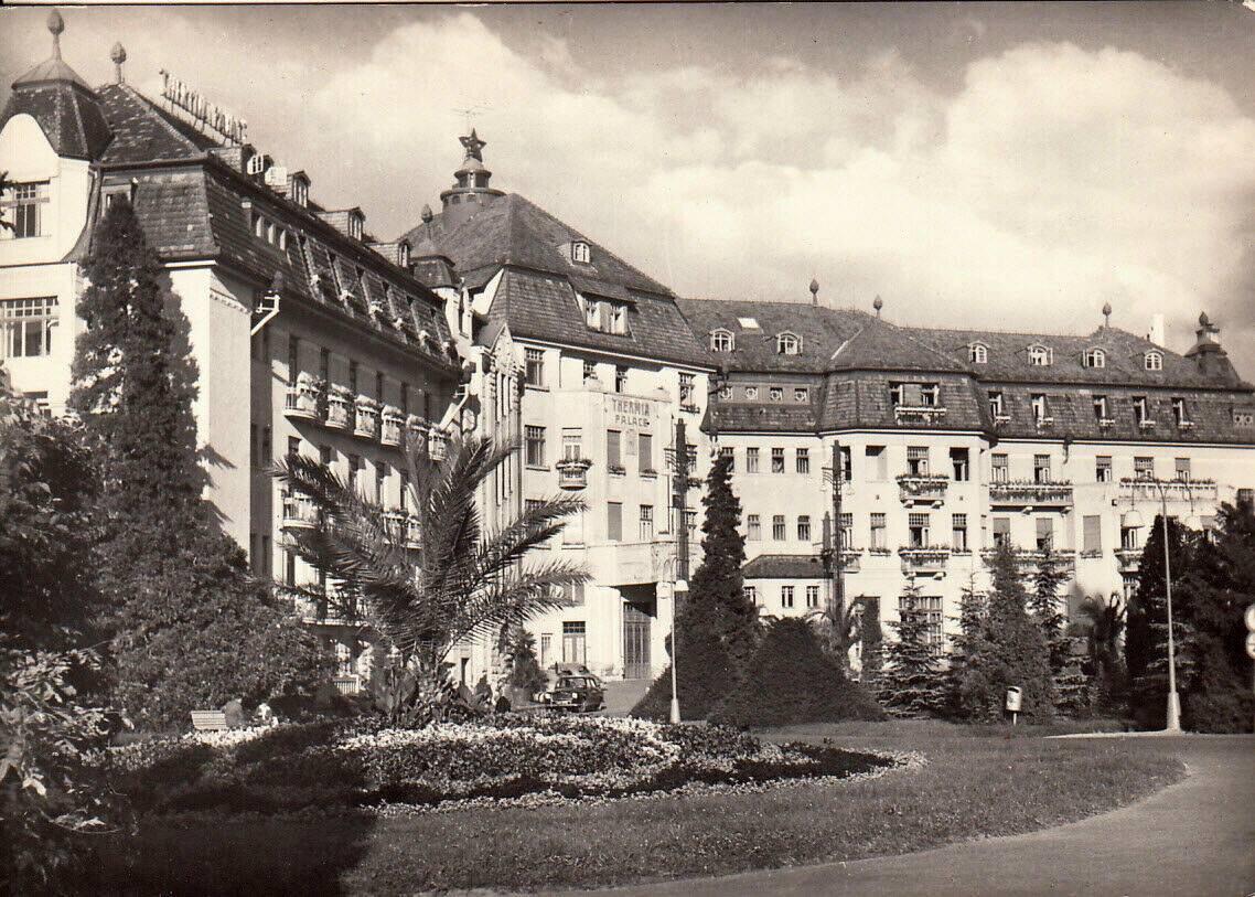 Historická fotka Thermia Palace