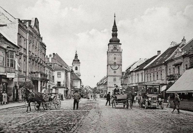 Trnava na historickej fotografii