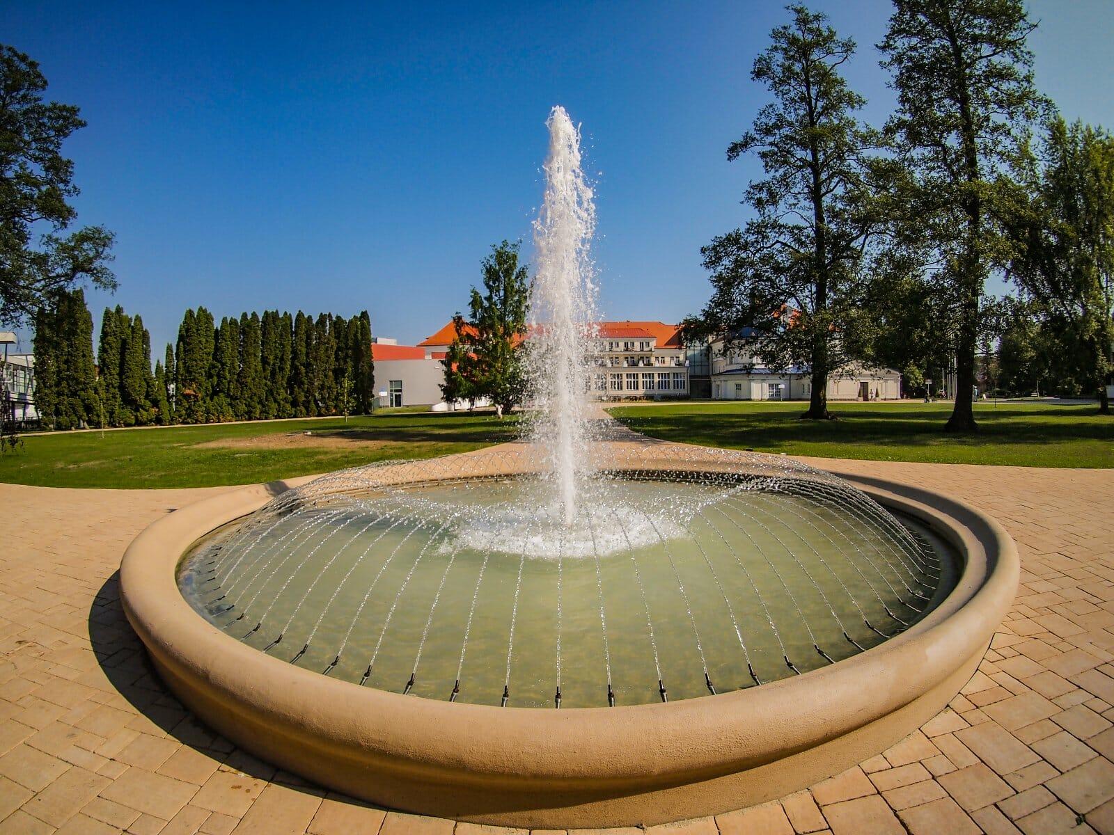 Fontána v Kúpeľoch Turčianske Teplice