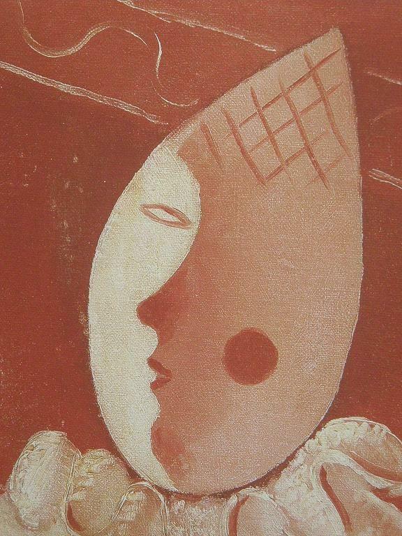 Ružový šašo (Hlava šaška), Mikuláš Galanda