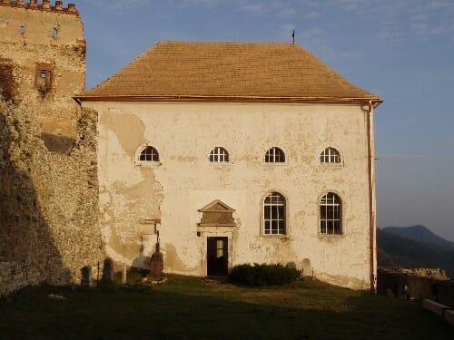 Ľubovniansky hrad – kaplnka