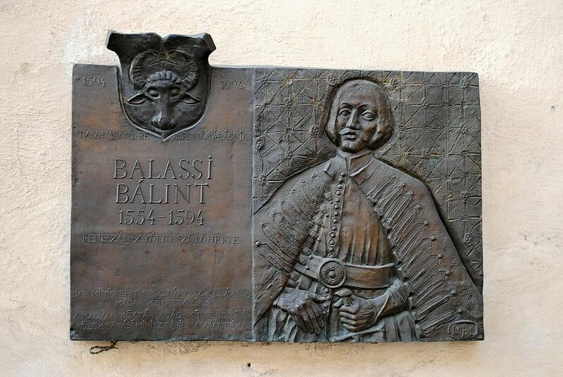 Valentín Balaša-pamätná tabuľa na Zvolenskom zámku