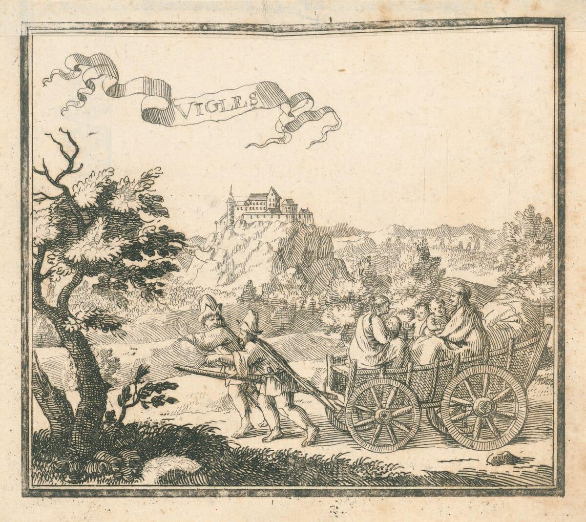 Vígľaš, Justus van den Nypoort, 1686, OGD