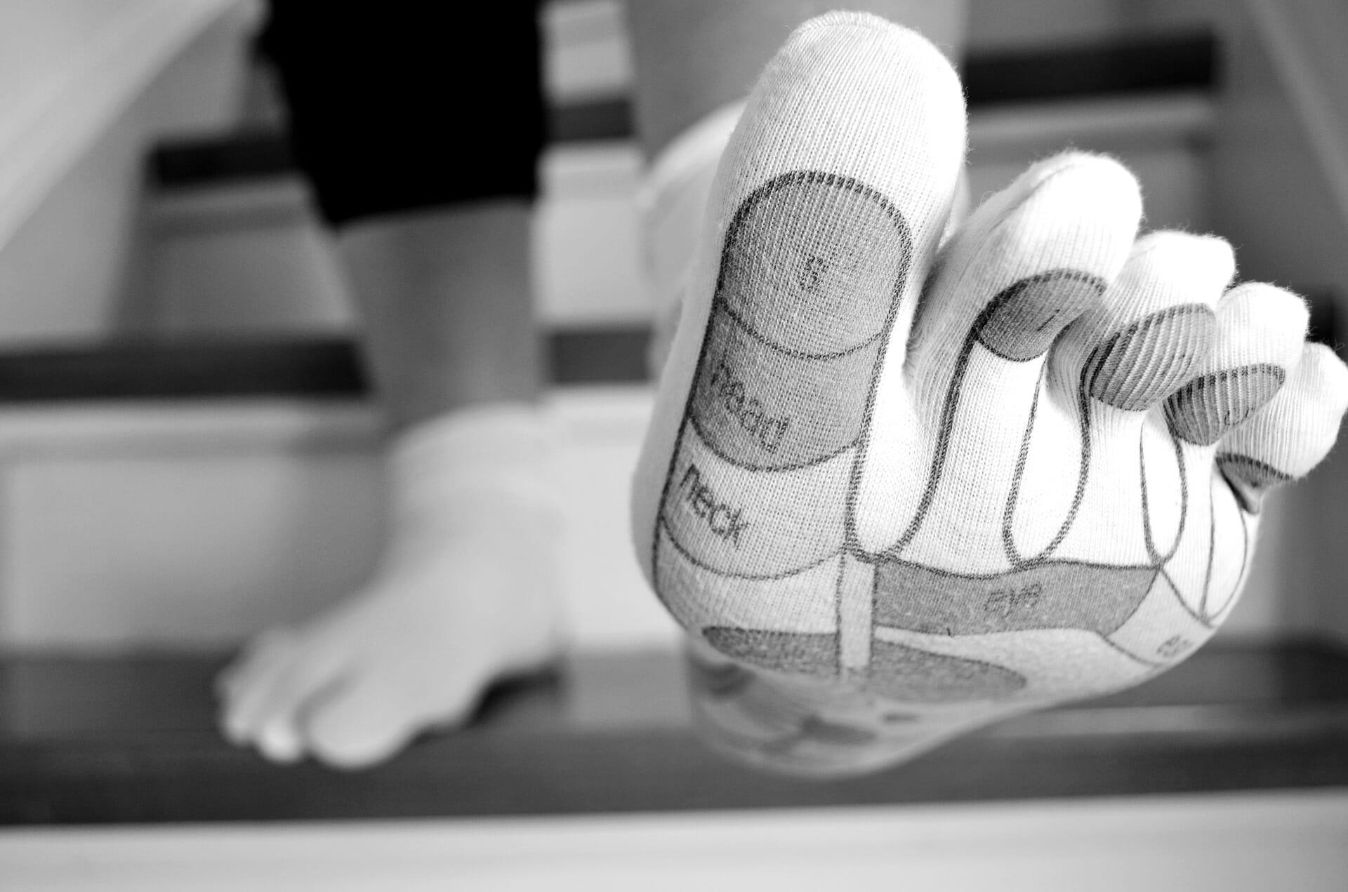 Na chodidlách sa nachádzajú nervové zakončenia všetkých orgánov ľudského tela.