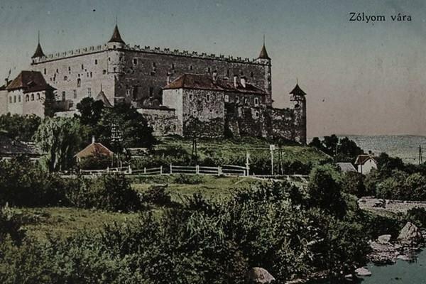 Zvolenský zámok v roku 1910