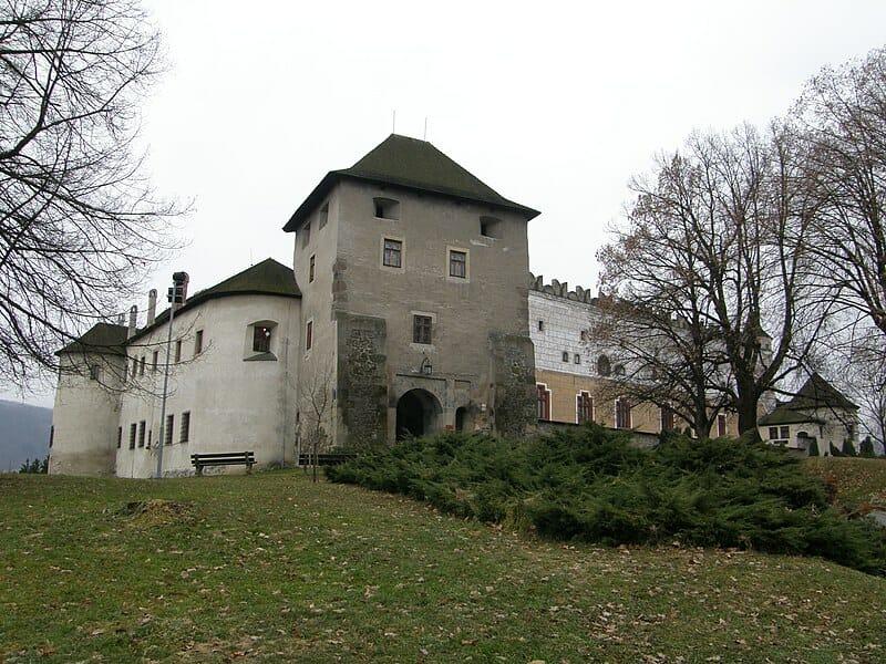 Vstupná časť do Zvolenského zámku