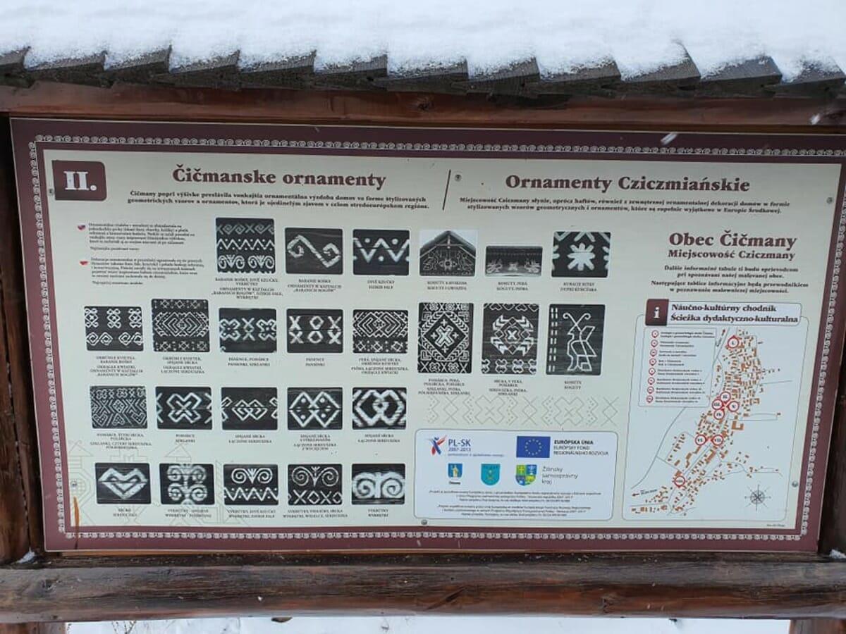 Čičmianske ornamenty