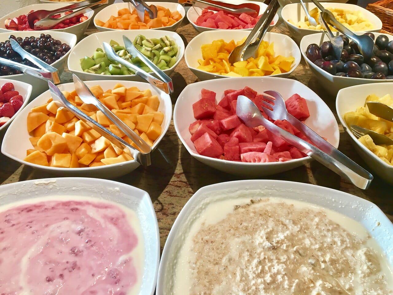 Bufetové stoly – raňajky