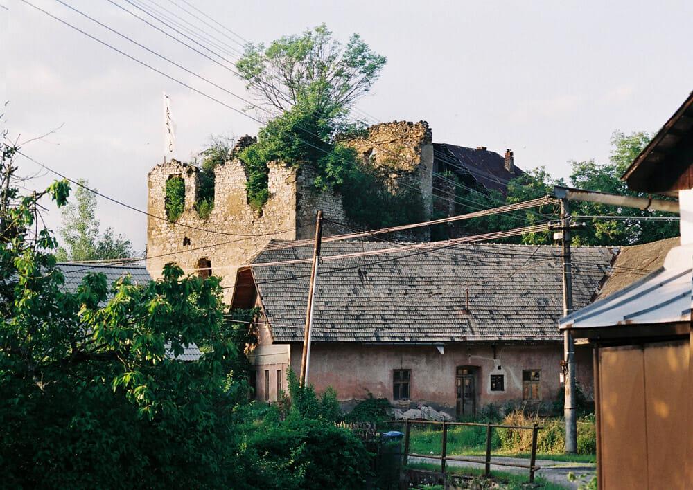 Hrádok - ruiny renesančného kaštieľa