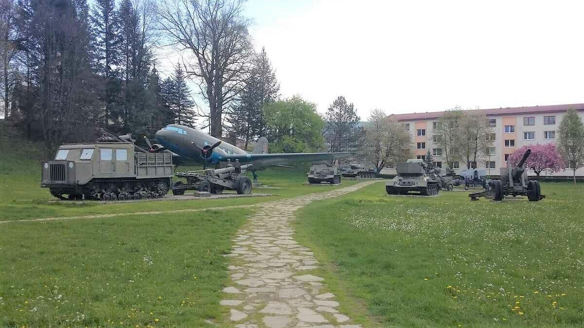 Park bojovej techniky