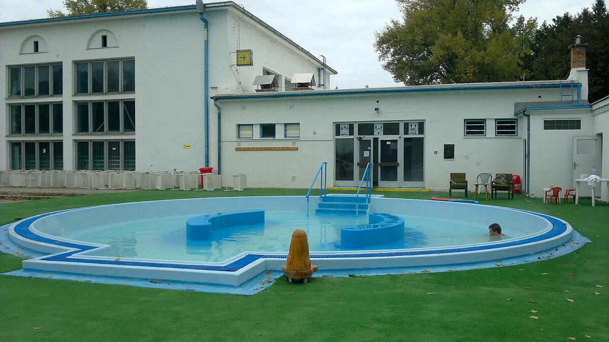 Detský relaxačný bazén – Kúpalisko Eva Piešťany
