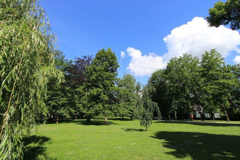 Historický anglický park pri Budatínskom hrade