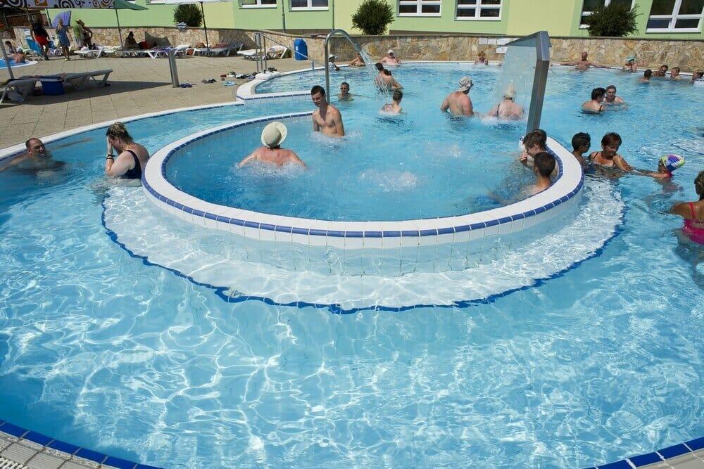 Relaxačný bazén vodného sveta