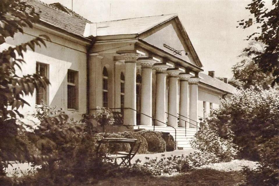 Historická fotografia kúpele Smrdáky