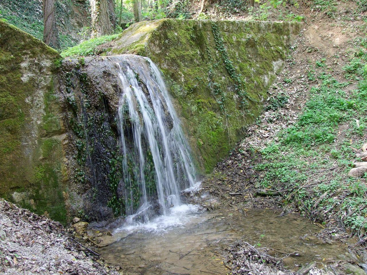 Vodopád Haluzická tiesňava