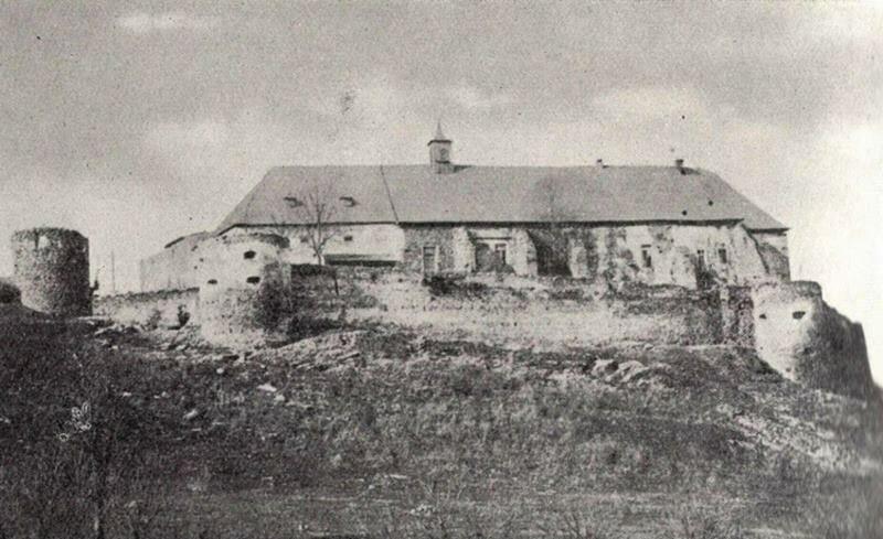 Vígľašský zámok, fotografia z roku 1955
