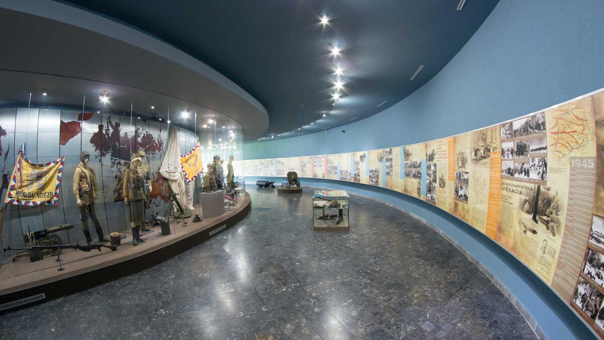 Expozícia Vojenského múzea vo Svidnik