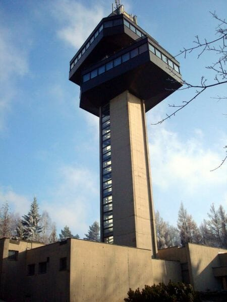 Vyhliadková veža na Dukle