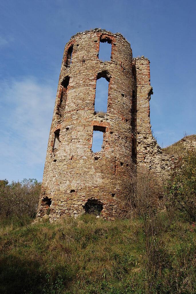 Bašta hradu Plaveč