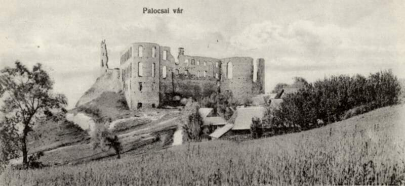 Historická fotografia – hrad Plaveč rok 1910