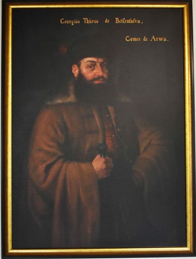 Obraz palatína Juraja Thurza v priestoroch múzea