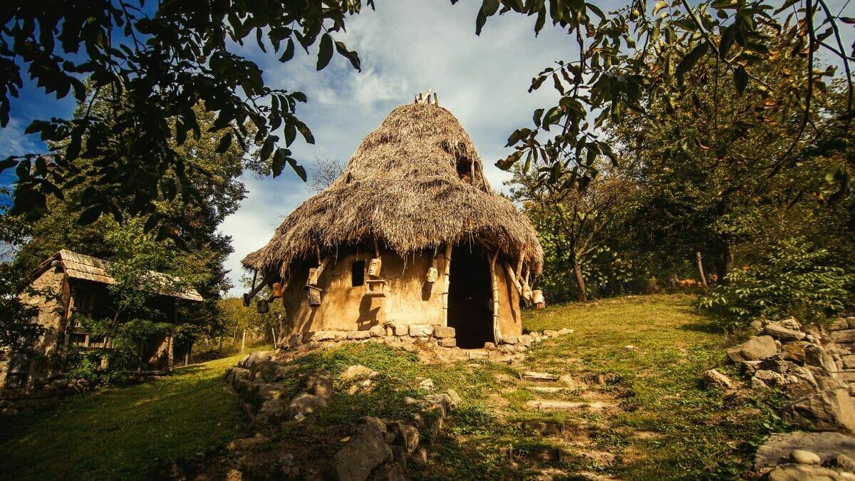 Keltské obydlie - Lišov Múzeum
