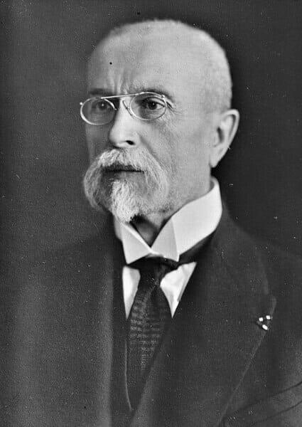 Tomáš Garrigue Masaryk, prvý prezident ČSR