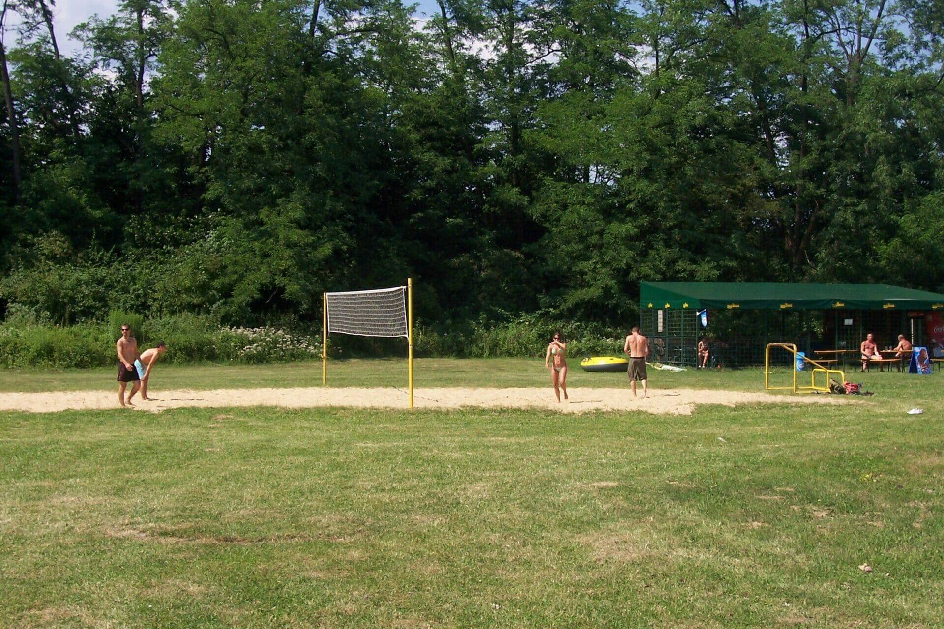 Plážové kúpalisko Bojnice – športové ihrisko