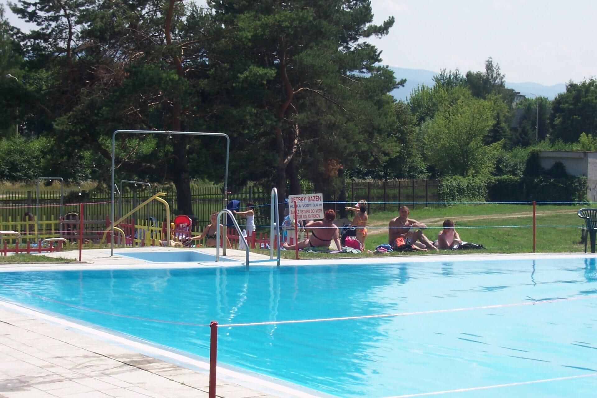Plážové kúpalisko Bojnice – plavecký bazén II.
