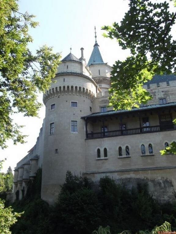 Polkruhová veža, Bojnický zámok