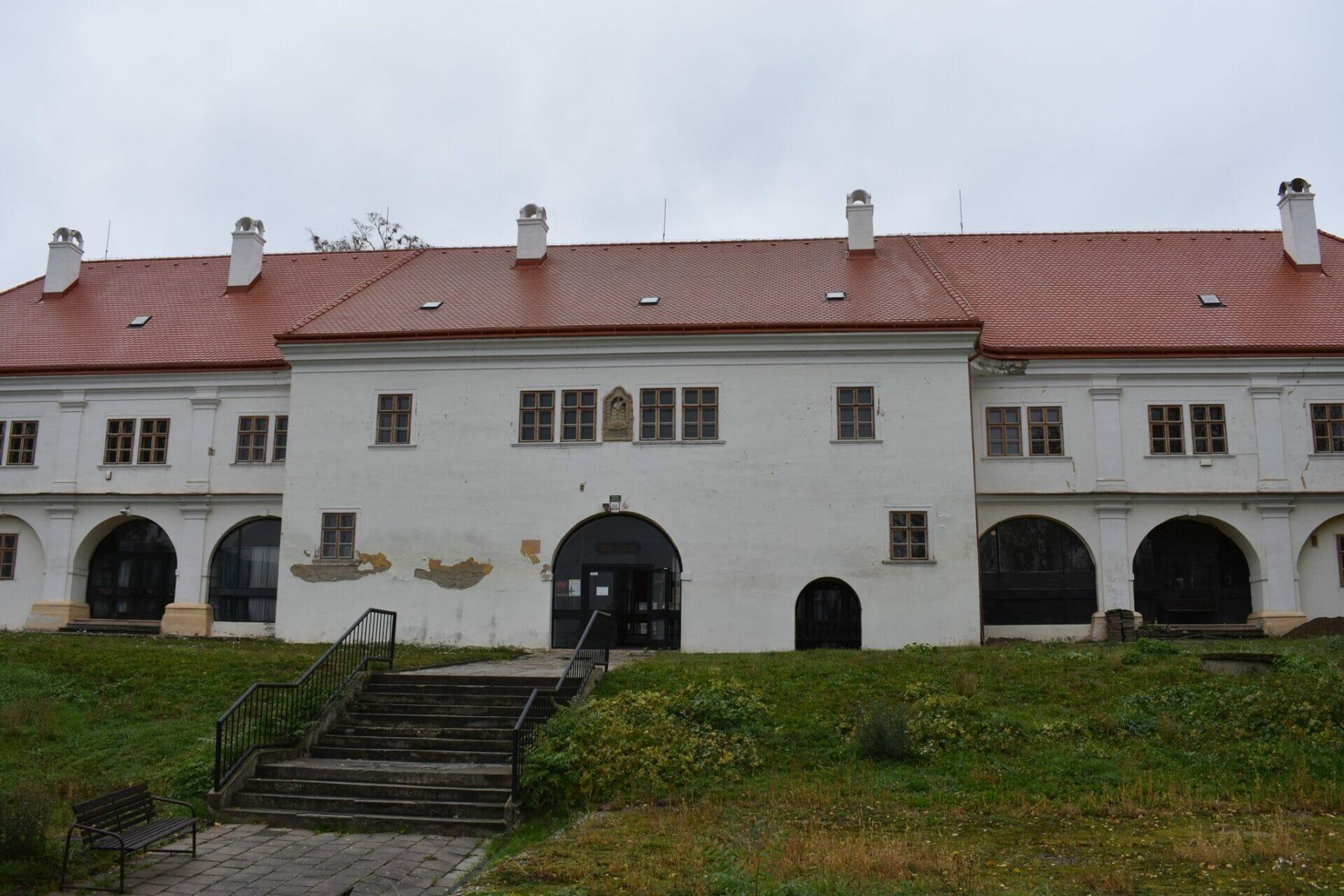 Budova Čachtického múzea